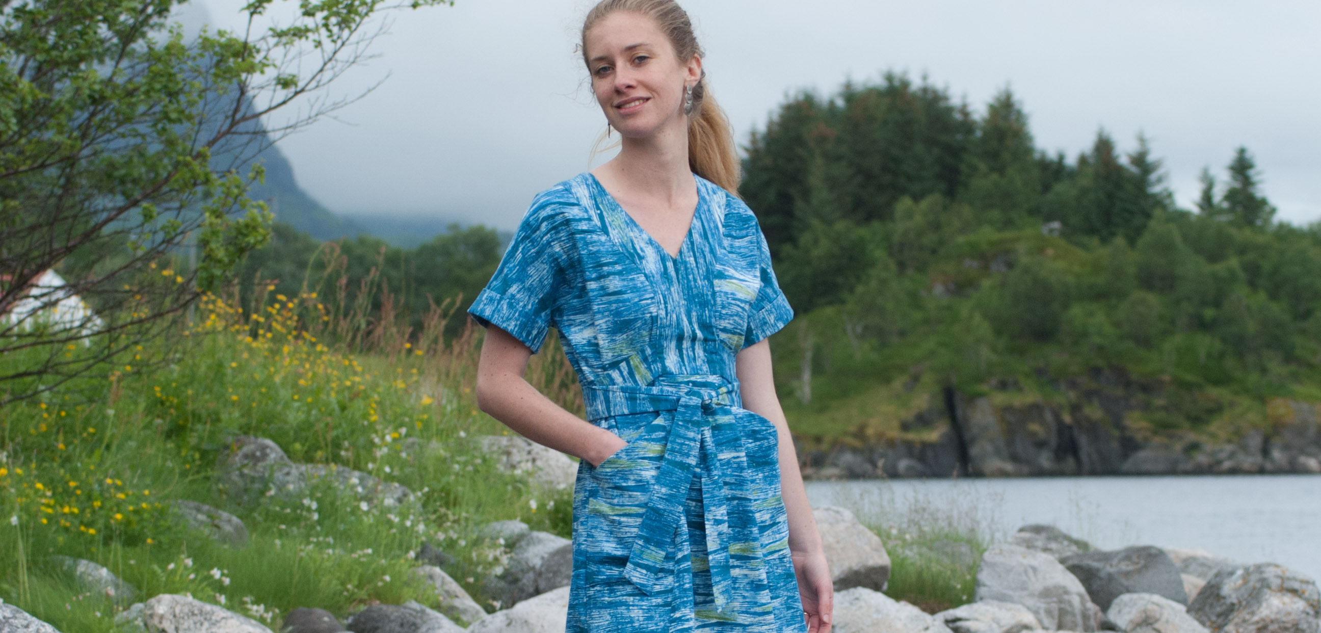Sew Mariefleur Tea House Dress SewHouse 7